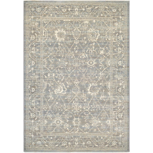 Couristan Everest Persian Arabesque Charcoal Ivory Rug 9 X27 2