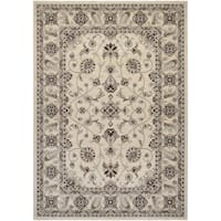 "Couristan Everest Rosetta/ Ivory Rug - 9'2"" x 12'5"""