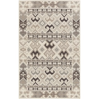 Hand-Woven Leah Southwestern Style Wool Rug (3'6 x 5'6)