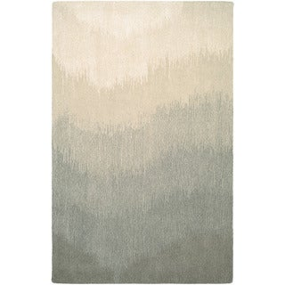 "Couristan Super Indo-natural Neutral Ombre/ Grey Rug - 9'6"" x 13'"