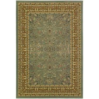 Couristan Izmir Floral Mashhad/ Grey Rug (9' x 12')