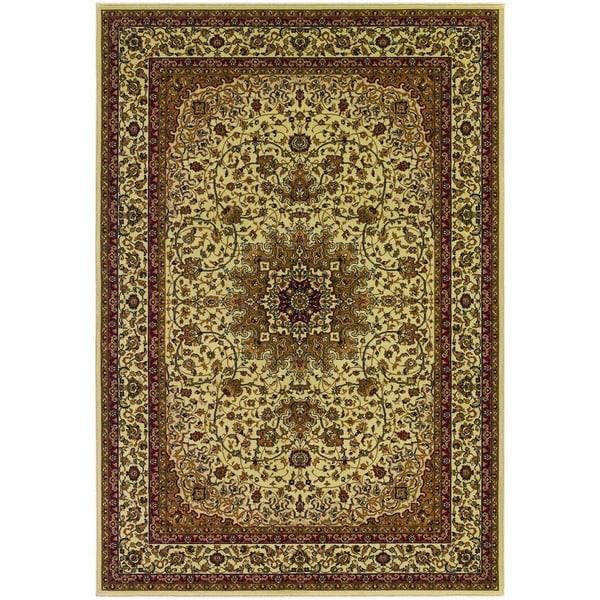 Couristan Izmir Royal Kashan Ivory Rug 9 X27