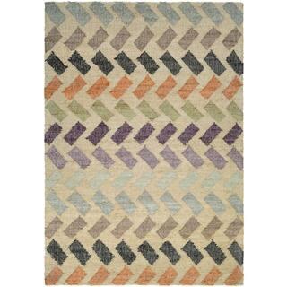 Couristan Mesquite Santa Clara/ Linen-Multi Rug (9' x 12')|https://ak1.ostkcdn.com/images/products/10426670/P17525243.jpg?impolicy=medium