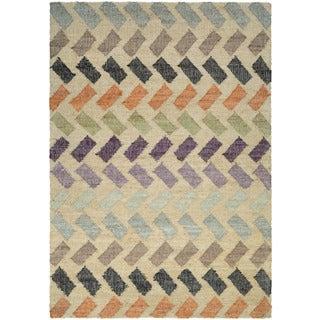 Couristan Mesquite Santa Clara/ Linen-Multi Rug (9' x 12')