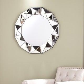 Silver Orchid Olivia Decorative Geometric Mirror