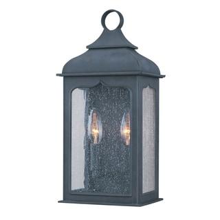 Troy Lighting Henry Street 2-light Small Pocket Wall Lantern