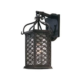 Troy Lighting Los Olivos 1-light Small Wall Lantern