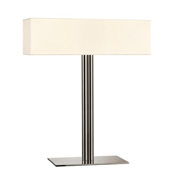 Sonneman Lighting Madison Satin Nickel Table Lamp