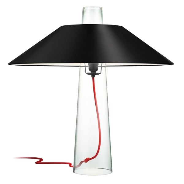 Sonneman Lighting Sky Black Table Lamp