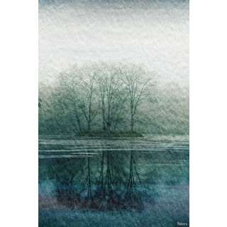 Parvez Taj 'Apple Lake' Ready to Hang Canvas Wall Art
