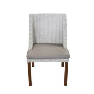 Decorative White Modern Indoor/ Outdoor Chair