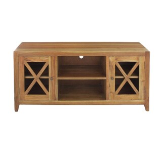 Crestone Traditional Natural TV Stand