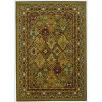 Couristan Royal Kashimar Persian Panel Hazelnut Rug - 9'10 x 13'9