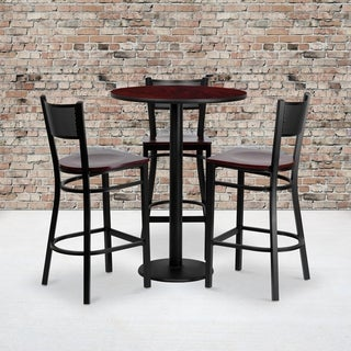 4 Piece Counter Height Dining Set