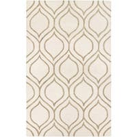 "Couristan Super Indo Natural Alba/ Ivory-Grey Rug - 9'6"" x 13'"