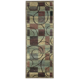 Nourison Expressions Brown Runner Rug (2' x 5'9)