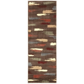 Nourison Expressions Chocolate Runner Rug (2' x 5'9)