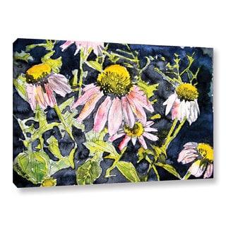 ArtWall Derek Mccrea 'Echinacea' Gallery-wrapped Canvas