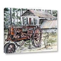 ArtWall Derek Mccrea 'Farm Tractor ' Gallery-wrapped Canvas