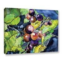 ArtWall Derek Mccrea ' Grape Vine' Gallery-wrapped Canvas