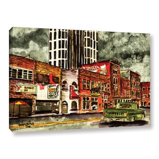 "ArtWall Derek Mccrea ""Nashville"" Gallery-wrapped Canvas"