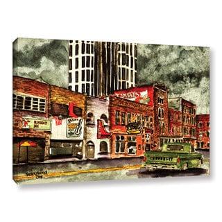 "ArtWall Derek Mccrea ""Nashville"" Gallery-wrapped Canvas"