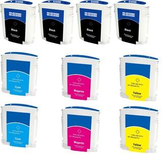 Remanufactured HP 88/ 88XL/ K550/ C9396AN/ C9391AN/ C9392AN/ C9393AN/ Black, Cyan, Yellow, Magenta Ink Cartridge (Pack of 10)