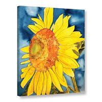 ArtWall Derek Mccrea 'Sunflower' Gallery-wrapped Canvas