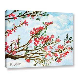 ArtWall Derek Mccrea 'Tree Flowers' Gallery-wrapped Canvas