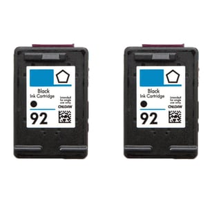 HP C9362WN (HP 92) Compatible Ink Cartridge For 5420 5440 5442 5443 C3100 C3140 C3150 C3180 (Pack of 2)