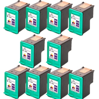 HP C9361WN (HP 93) Compatible Ink Cartridge For 5420 5440 5442 5443 C3100 C3140 C3150 C3180 (Pack of 10)