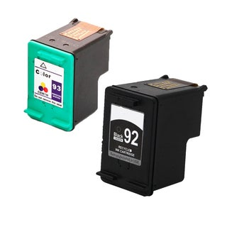 HP C9362WN (HP 92) HP C9361WN (HP 93) Compatible Ink Cartridge For 5420 5440 5442 5443 C3100 C3140 C3150 C3180 (Pack of 2)