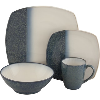 Sango Metallics Blue 16-piece Dinnerware Set