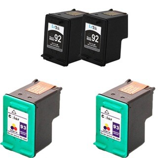 HP C9362WN (HP 92) HP C9361WN (HP 93) Compatible Ink Cartridge For 5420 5440 5442 5443 C3100 C3140 C3150 C3180 (Pack of 4)