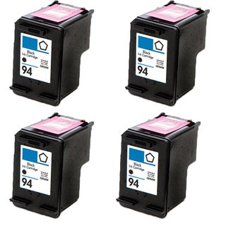 C8765WN (HP 94) Compatible Ink Cartridge For 5740 6540 6840 6210 7310 7410 (Pack of 4)
