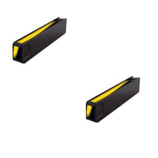 HP 970XL (CN628AM) Yellow Compatible Inkjet Cartridge For HP OfficeJet Pro X451dn HP OfficeJet Pro X451dw (Pack of 2)