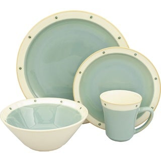 Sango Newport Aqua 16-piece Dinnerware Set