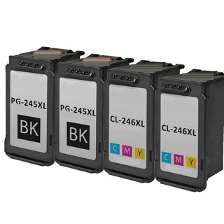 PG-245XL CL-246XL Compatible Inkjet Cartridge For PIXMA MG2420 MG2922 MG2924 MG2520 MG2920 IP2820 (Pack of 4)