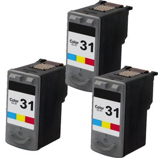CL-31 Compatible Inkjet Cartridge For MP210Pixma MP140Pixma MP190Pixma MP220Pixma MP470Pixma MX300Pixma (Pack of 3)