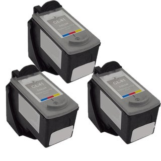 CL-41 Compatible Inkjet Cartridge For JX200 MP140 MP150 MP160 MP170 MP180 MP190 MP210 MP450 MP460 MP470 MX300 (Pack of 3)