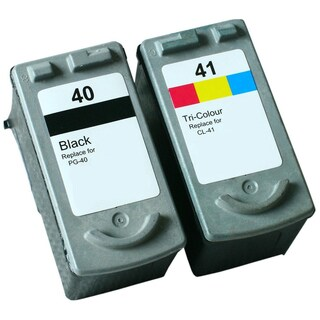 PG-40 CL-41 Compatible Inkjet Cartridge For JX200 MP140 MP150 MP160 MP170 MP180 MP190 MP210 MP450 MP460 MP470 (Pack of 2)