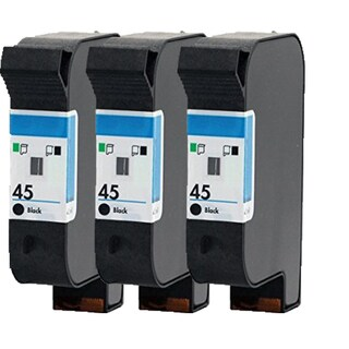 HP 51645 (HP 45) Compatible Inkjet Cartridge For 710C/1000C (Pack of 3)