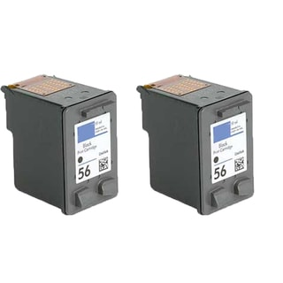 HP C6656 (HP 56) Compatible Inkjet Cartridge For 3550 5550 5652 9650 9680 (Pack of 2)