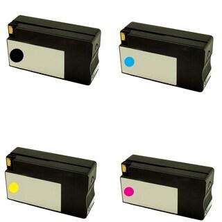 HP 950XL 951XL Black Cyan Yellow Magenta Compatible Inkjet Cartridge For HP OfficeJet Pro 8100 (Pack of 4)