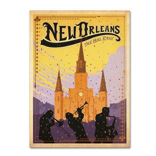 Anderson Design Group 'New Orleans' Canvas Art