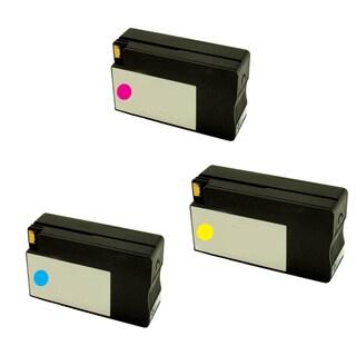 HP 951XL Cyan Yellow Magenta Compatible Inkjet Cartridge For HP OfficeJet Pro 8100 HP OfficeJet Pro 8600 (Pack of 3)
