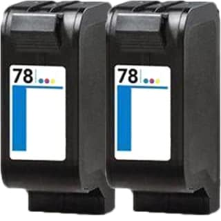 HP C6578DN (HP 78) Compatible Inkjet Cartridge For 712C 1100C (Pack of 2)