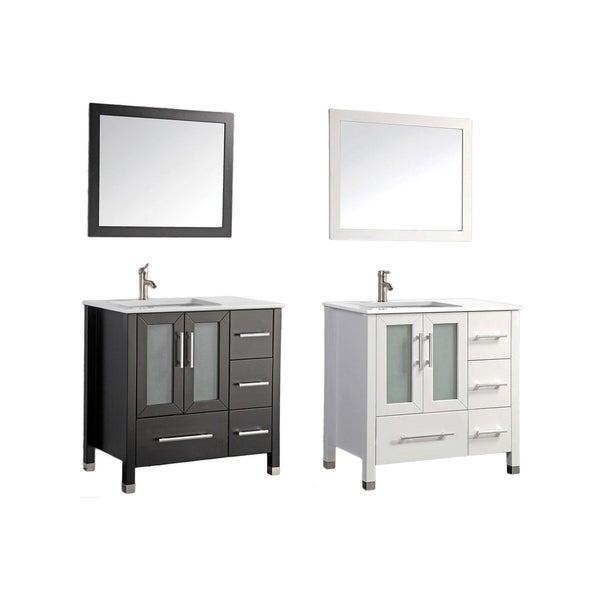shop mtd vanities sweden 36 inch single sink bathroom