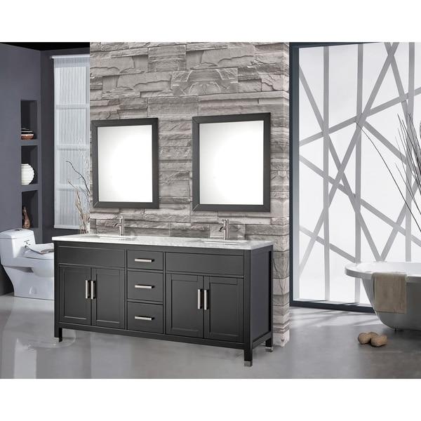 Mtd Vanities Ricca 72 Inch Double Sink Bathroom Vanity Set With Free Mirror And Faucet