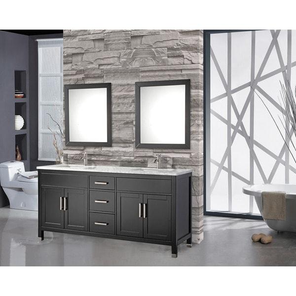 Mtd Vanities Ricca 72 Inch Double Sink Bathroom Vanity Set